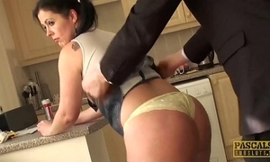 Subslut montse swinger gags mainly load of shit before rough anal enjoyment from