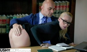 Tochis curvy aj applegate punished away from her boss