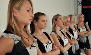 6 maids strike one sexfight