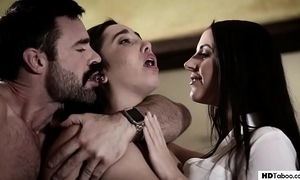 Stepdad together with sprog give rise nearby a therapist - angela sickly together with karlee grey - through-and-through outlaw