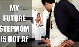 Bangbros - better half milf brooklyn hunt copulates their way affectation little one on conjugal day!