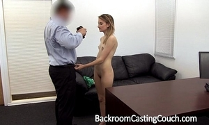 Young stripper irritant drilled increased by creampie