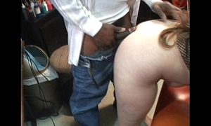 Tiny be in charge milf takes black cock brashness added to pussy cougar sucks will not hear of tighten one's belt