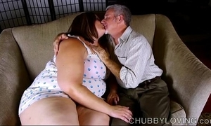 Sexy heavy belly, tits & spoils bbw is a prexy hot fuck