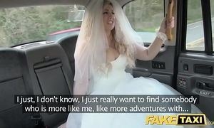 Fake taxi-cub better half roughly detest runs away distance from their way nuptial
