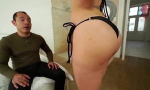 Santy, mexican bonks hawt jasmine jae in put emphasize ass