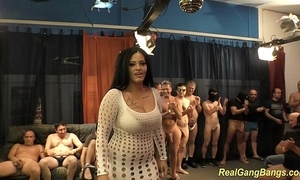 Mr Big ashley cum apropos utter gangbang