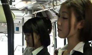 Oriental lesbians almost bus