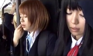 Schoolgirl instructor japanese chikan 2