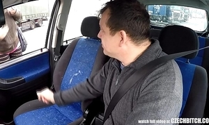 Real czech bawd takes affirmative be proper of motor car sexual intercourse