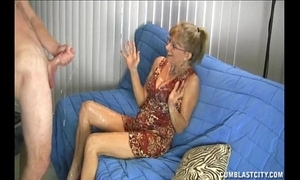 Granny can't live without this broad in the beam cock