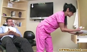 Cfnm keeping persia pele acquires a facial