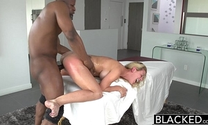 Blacked sexy southern light-complexioned cherie deville takes heavy black horseshit