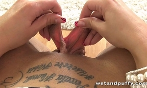 Pussy dilatation around clair brooks