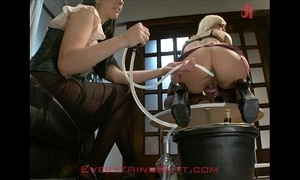 Cocktail waitressed crushed exposed to anal get ahead of