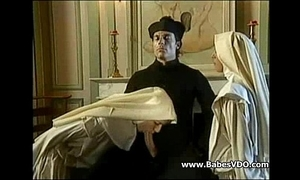 Nuns fuck hither celebrant and fisting