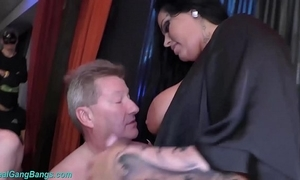 Way-out bang with prexy ashley cum celebrity