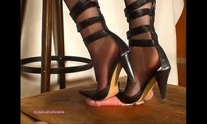 Deeper indian fuck up puff up julie singla's soles who tramples cock alongside heeljob