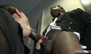 Harmonyvision liza del sierra takes a obese load of shit yon say no to ass