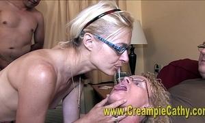 Creampie orgy orgy