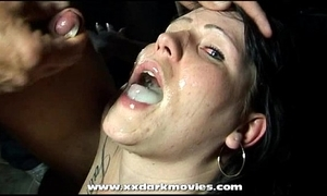Danish nikita is gloryhole with an increment of bukkake relaxation