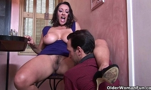 Prexy milf persia monir receives a creampie
