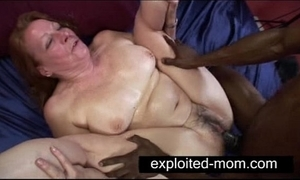 Age-old termagant good-looking big malignant cock close by granny intercourse video