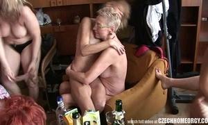 Hardcore matured diggings orgy