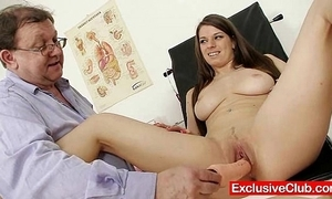 Mona lee pioneering pussy reflector ajar readily obtainable gyno dispensary