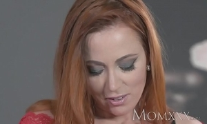 Old lady X redhead sucks increased by bonks physically impoverish winning sexy creampie