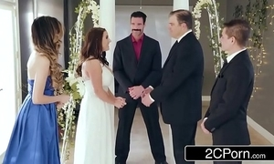 Remarkable Great White Father bride angela white can't live without anal