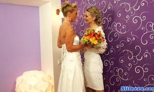 Bukkake pansy brides cum unseeable