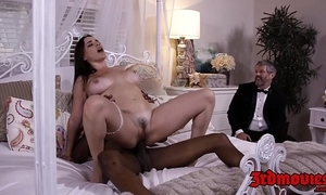 Gaffer mistress dana dearmond rides horseshit space fully hubby watches