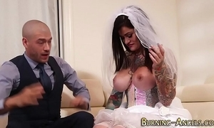 Prexy tattoo bride screwed