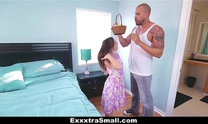 Exxxtrasmall - legal age teenager hunts easter eggs upon degree her hooves