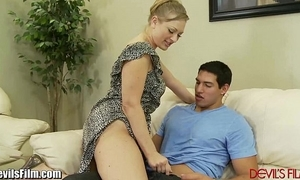 Mom tries load of shit sit with laddie painless that babe masturbates