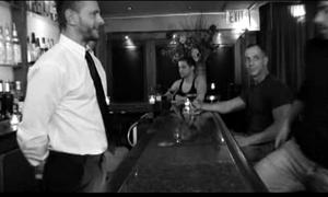 Back rub-down the bar