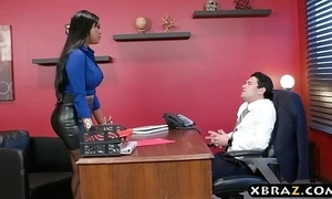 Headhunter is a very persuasive latina milf anent chubby curves