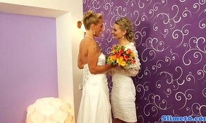 Lesbian brides riding bukkake weasel words readily obtainable gloryhole