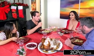 Torrid unmoved old lady ava addams bonks their way daughter's boyfriends more than christmas
